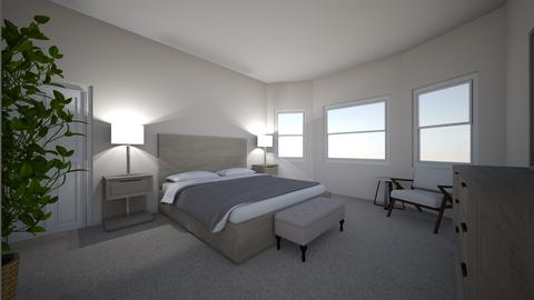 Aulakh Master Bedroom 2 - Bedroom - by Mittemiller