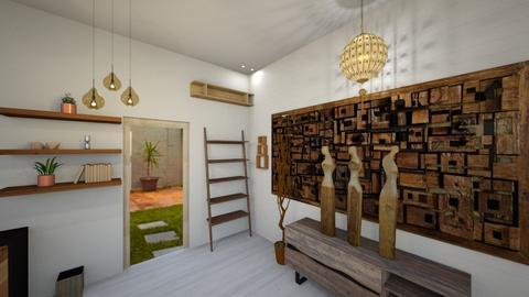 02 - Rustic - Living room  - by shaipayyy