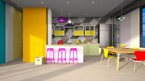 Playful Kitchen - by Spark of Heaven