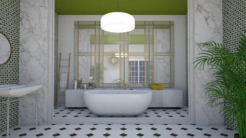 ART DECO BATHROOM - Bathroom  - by iope