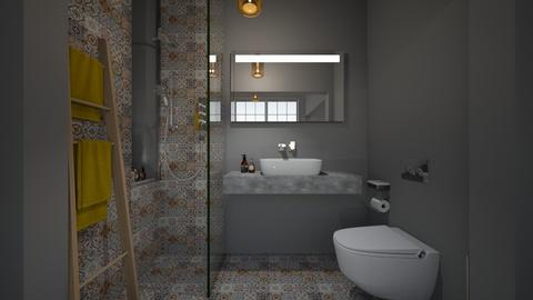 Casa308Bathroom - Retro - Bathroom  - by nickynunes