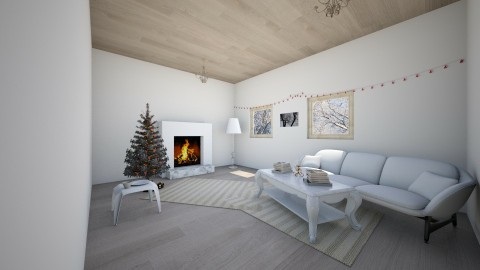 christmas - Modern - Living room - by Maddie Freeman