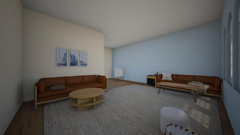 First Room Design - Living room  - by katieruiz