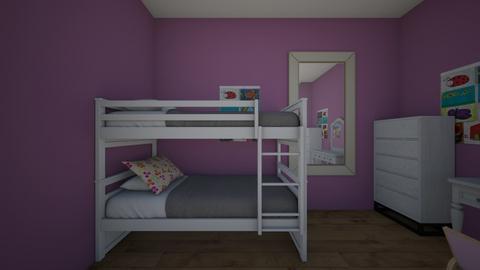 GIrls bedroom - by dlove30