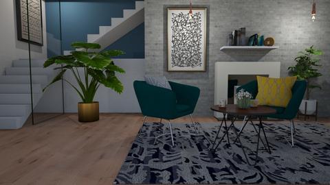 Living room - Bathroom  - by Flaflaf
