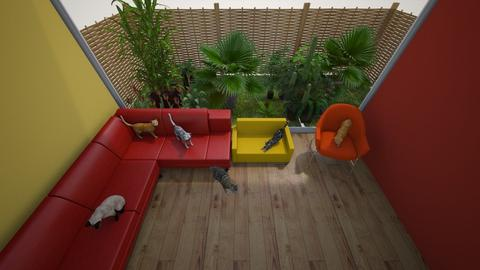 Cat lady  - Living room - by Pippies home