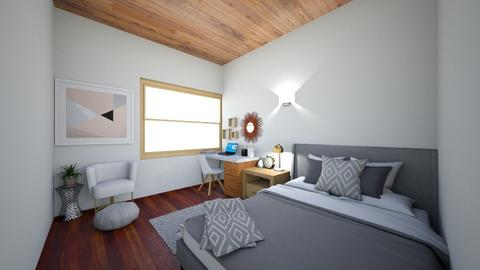 My Room - Modern - Bedroom  - by marianavalenciat