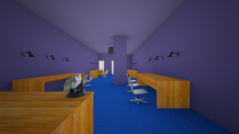 gaming center - Modern - Office  - by HKC Movies
