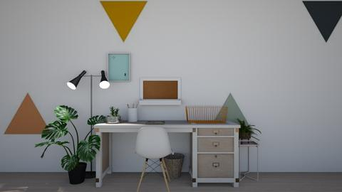 workspace - Office  - by dia17a