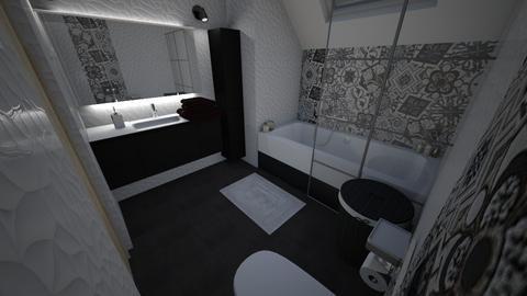 prywatna lazienka - Bathroom  - by elizab492