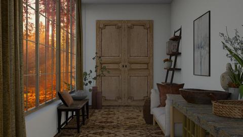 Autumn Hallway - by ilikalle