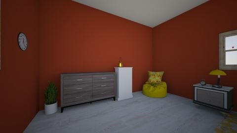 Color Challenge Room - Bedroom  - by emilyhall1234