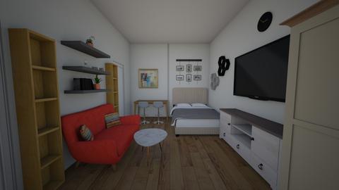Garzon - Minimal - Living room  - by betonkevero