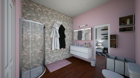 VIEW 5 of college apartme - Classic - Bathroom  - by annator