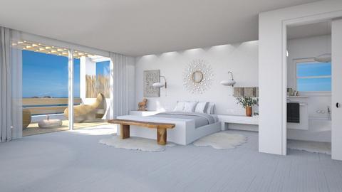 Paros - Minimal - Bedroom  - by Claudia Correia