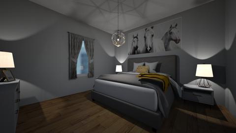 transformation 2 - Masculine - Bedroom  - by madaline