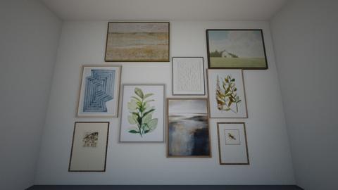 Art walls - by llamaperson