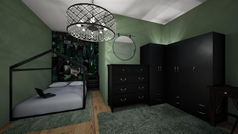 dark room - Bedroom  - by mohm43