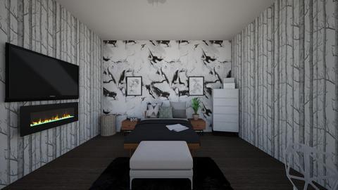 Modern Bedroom - Bedroom  - by cutepiecove