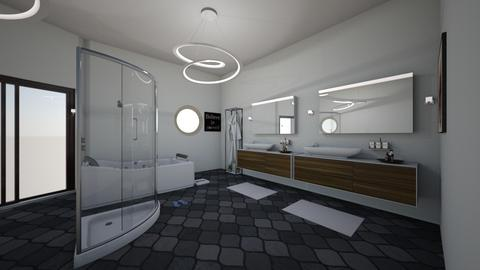 modern bathroom - Modern - Bathroom  - by hannalol