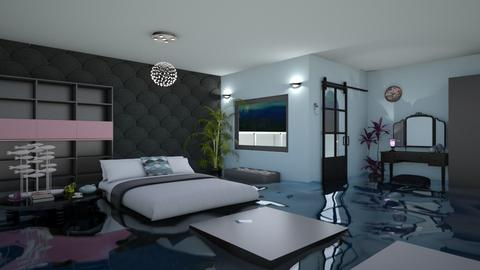 Cerulea - Bedroom  - by Siraademented1309
