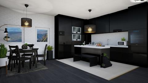 Boho Kitchen 3 - Modern - Kitchen  - by Isaacarchitect