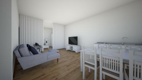 1 room house - by Elisa Sage