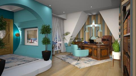 Blue Lawyers Office - by ZsuzsannaCs