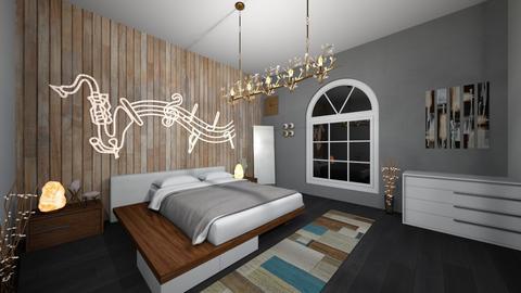 Camera da letto - Bedroom  - by Sergio Shkullaku