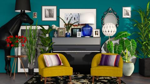 Frida - Glamour - Living room  - by sabaclayes