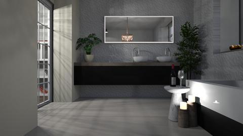 minimal - Bathroom  - by katarina_petakovi