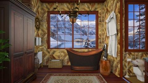 Design 257 Bathing in Canadian Rockies - Bathroom  - by Daisy320