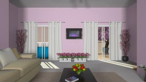 My future living room. - Rustic - Living room  - by LucijaLjeva