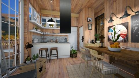 western home - Kitchen  - by Aurora Boreas