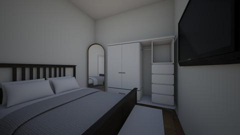 Iulia  - Minimal - Bedroom  - by andreea2908