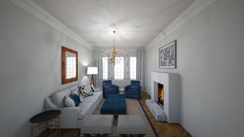 Park Living Room - Living room  - by virtuestella