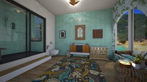 Tropical Bliss - Global - Bathroom  - by mmt_regina_nox