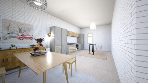 House Kitchen - Kitchen  - by winterdrxp