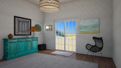 Simple Beach - Living room  - by greekgirl37