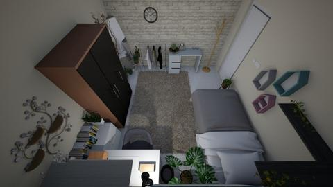 small bedroom - Minimal - Bedroom  - by nesyaa