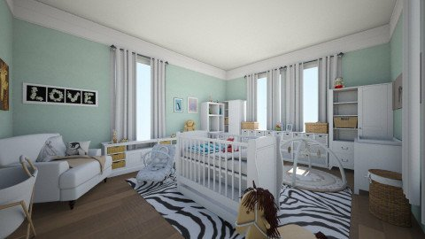 baby future - Kids room  - by Lauris Osorio