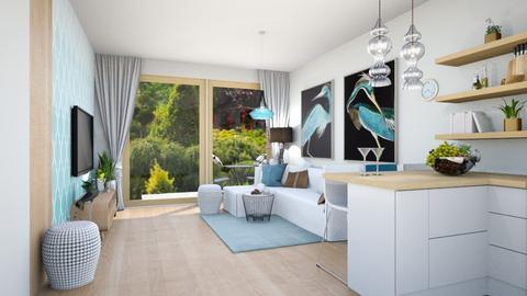 salon kiszka - Living room  - by ewcia3666