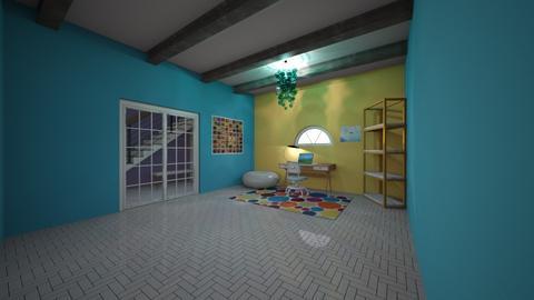 modern playful - Modern - Office - by Jaylinmarie2008