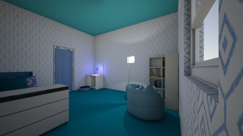 My Dream room with me and - Modern - Bedroom - by kaitlynyates