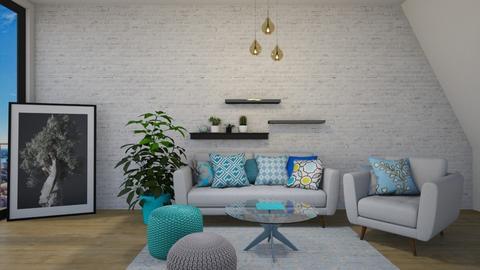 apt - Living room - by tj94