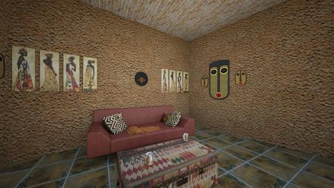 African Touch Livingroom - by lalalalisa_m__