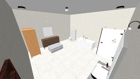 my - Bathroom  - by dalif
