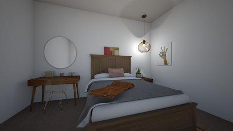 macy design - Rustic - Bedroom  - by Rinnah02