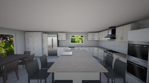 Kitchen Plan 14b - Modern - Kitchen  - by Marco DR