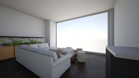 XinLR corner couch center - Living room  - by ztay